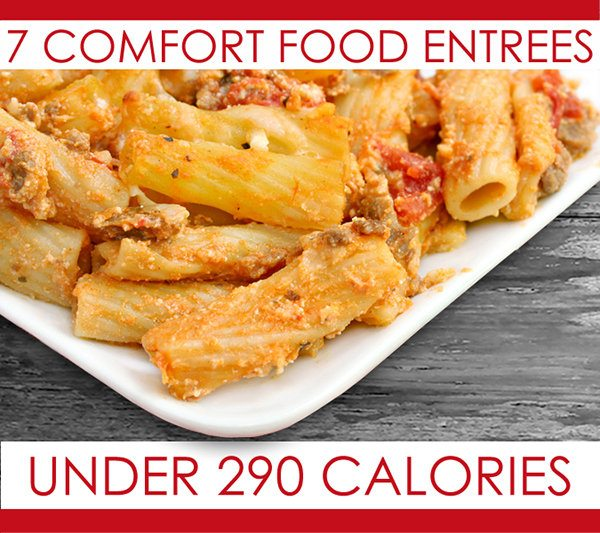 7 Comfort Food Entrées Under 290 Calories
