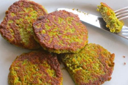 Lentil-Zucchini Pancake Recipe