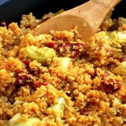 skinny quinoa skillet