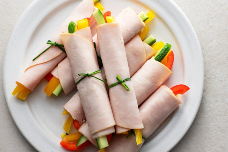 These paleo-friendly meaty veggie roll-ups are great for the paleo, low-carb, and even keto diet!