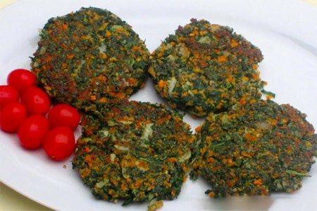 Skinny Kale Burgers