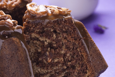 Vegan Chocolate Banana Nut Bread
