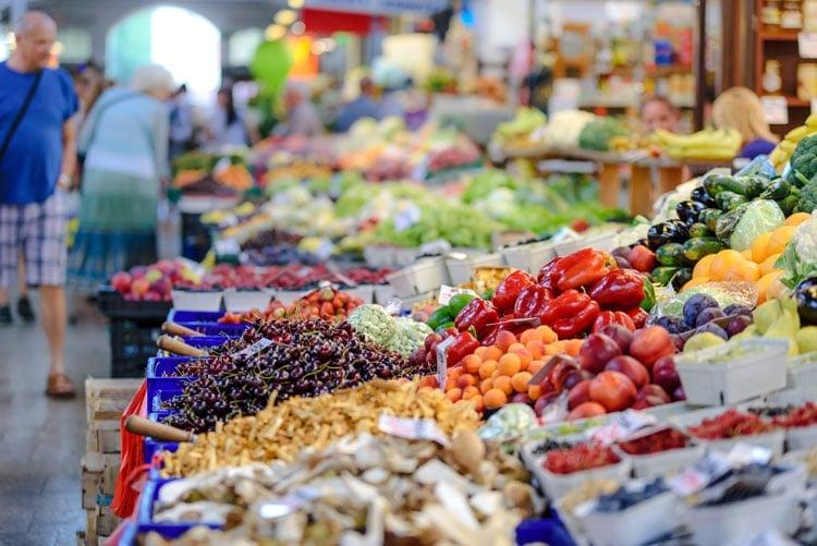 shop around the farmer's market