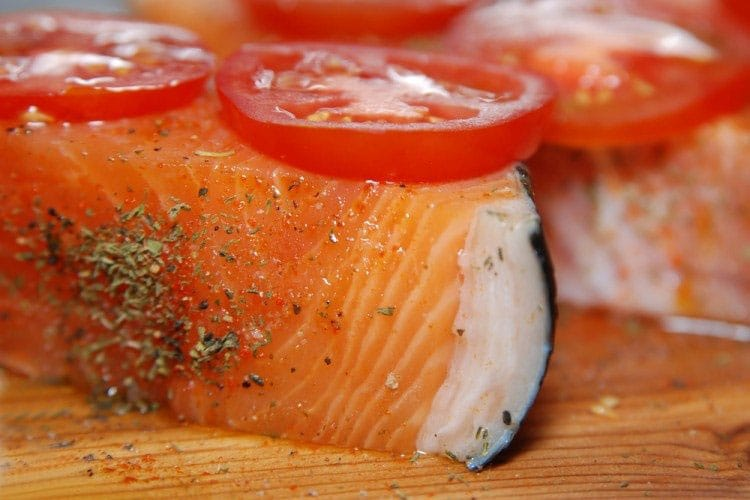 Image result for 4. Wild-caught salmon