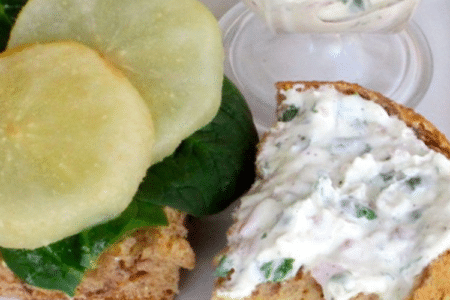 Goat Cheese Yogurt Spread