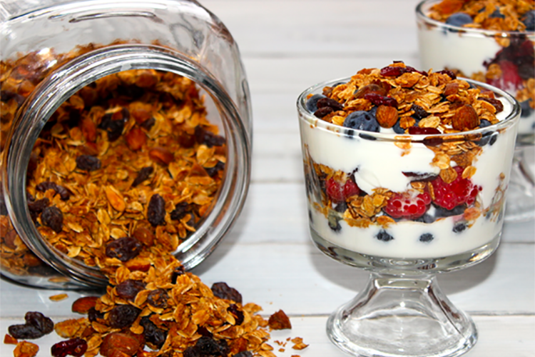 Sweet and Savory Parfait