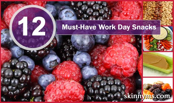 12 Must-Have Workday Snacks