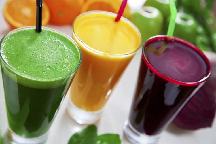 Juice combinations to cleanse and detox