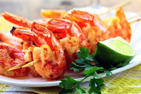 Grilled or Roasted Shrimp