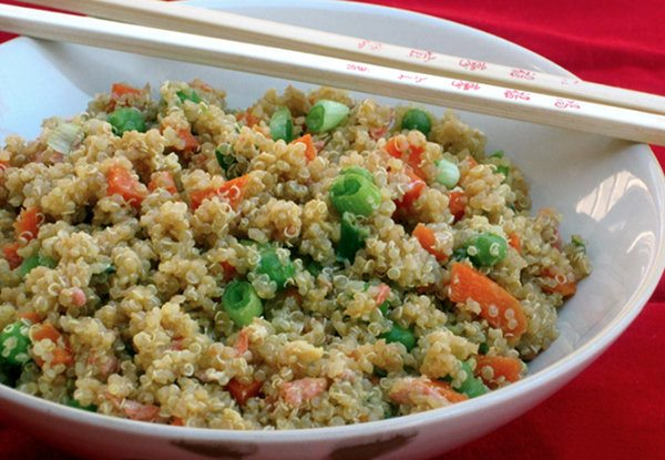Quinoa and Vegetable Stir Fry