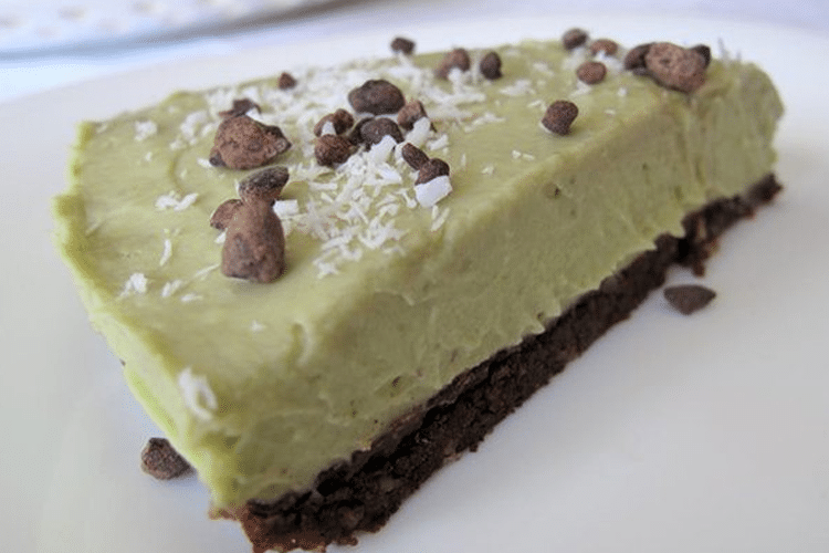 Raw Chocolate-Coated Key Lime Pie