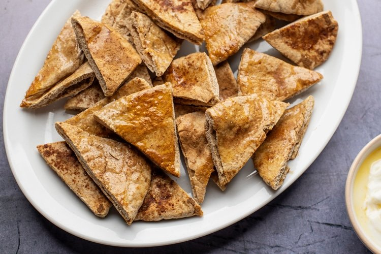 whole-grain pita chips