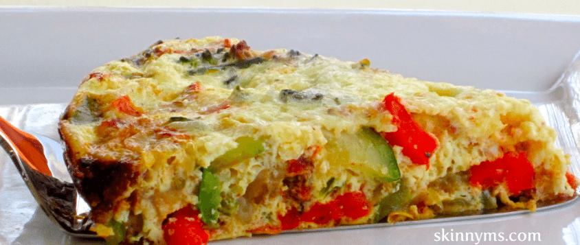 Crustless Vegetable Quiche (TNT) Crustless-Vegetable-Quiche
