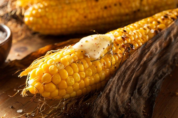Easy Grilled or Roasted Corn on the Cob