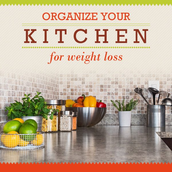 How to Organize Your Kitchen for Weight Loss
