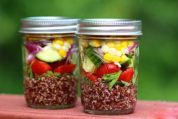 Mediterranean Quinoa Salad with Summer Vegetables