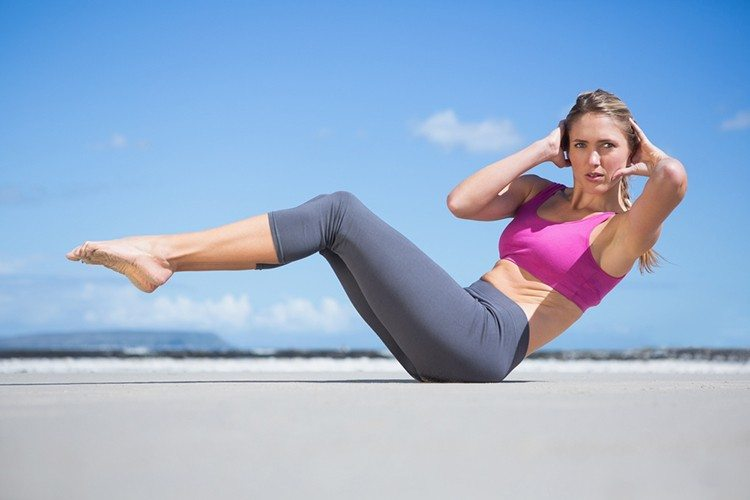 Pilates 7-day 100 Ab Challenge