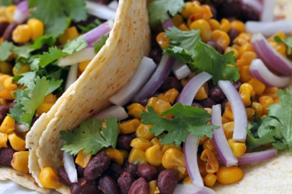 Roasted Corn and Black Bean Tacos