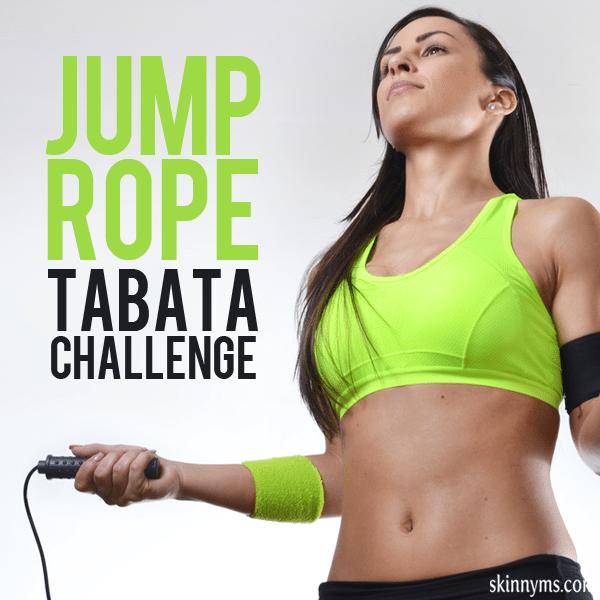 ump Rope Tabata Challenge