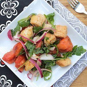 Panzanella Salad with Arugula