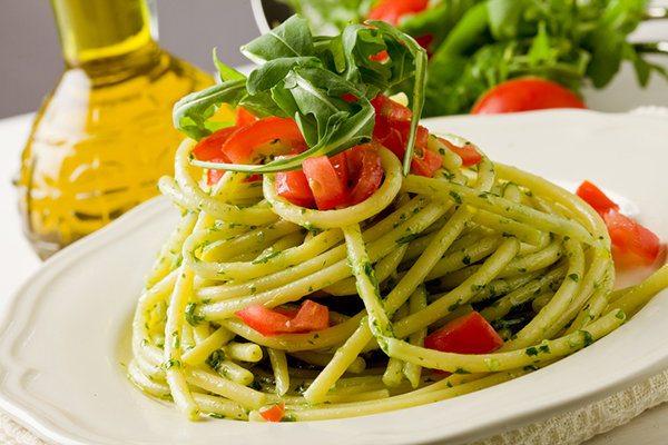 Pesto Pasta or Marinara Pasta