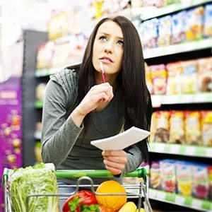 5 Daily Menus Grocery List
