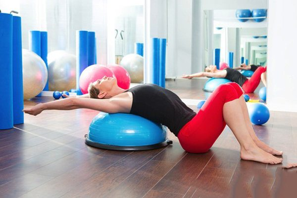 Bosu Your Way to Fit