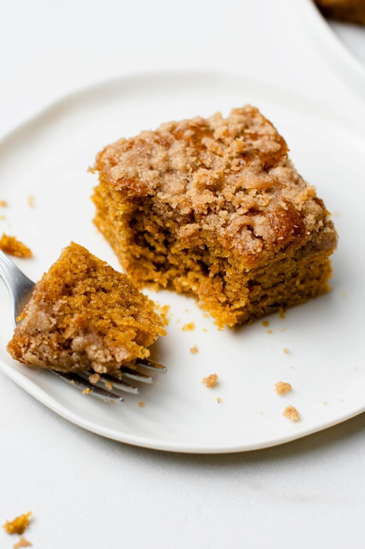 Our moist and flavorful pumpkin streusel bars are the perfect holiday treat!
