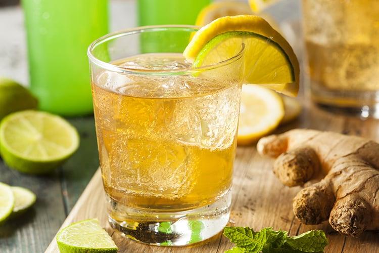 Skinny Homemade Ginger Ale