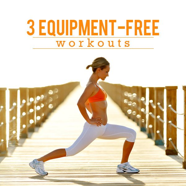 3 Equipment- Free Workouts