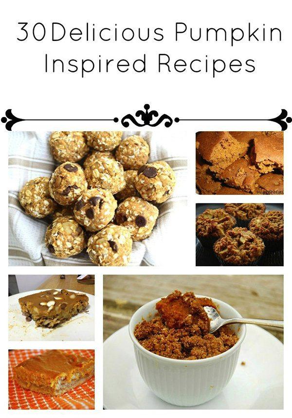 Delicious pumpkin inspired recipes