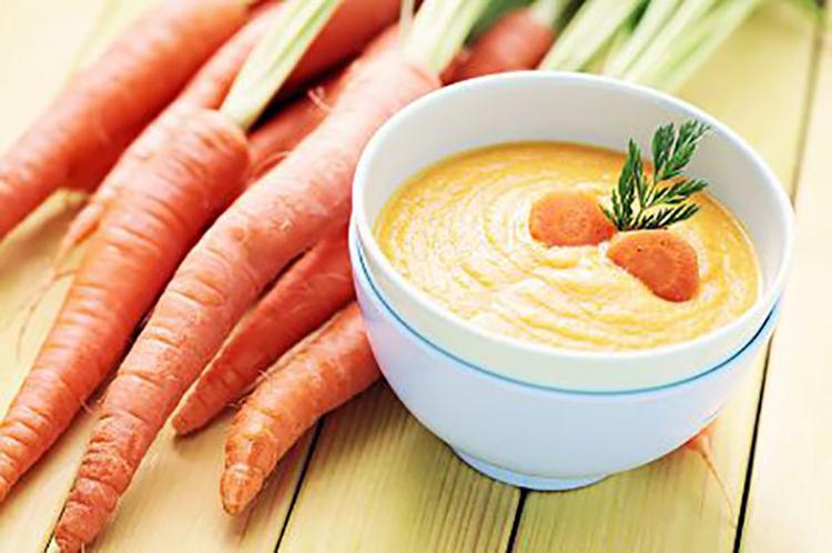Carrot Apple Ginger Soup