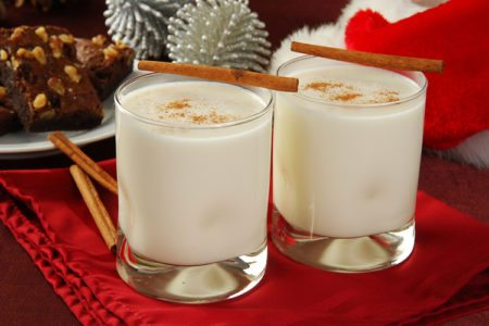 Creamy Holiday Eggnog