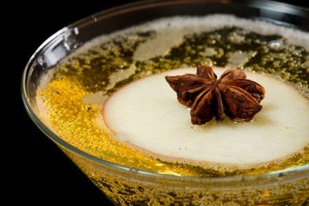 Holiday Apple Pie Martini