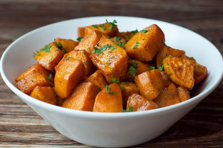 Slow Cooker Candied Sweet Potatoes