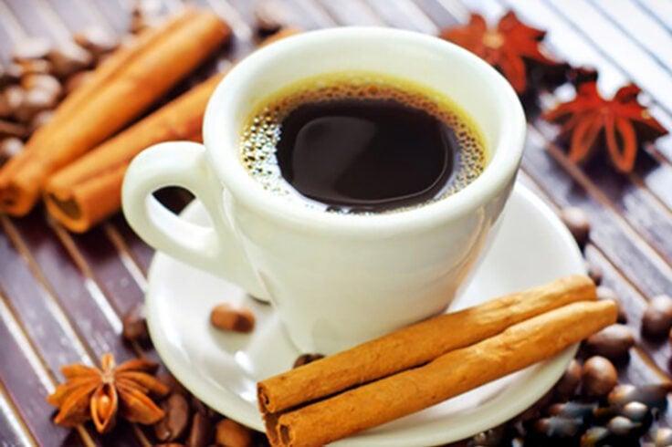 cinnamon spiced coffee