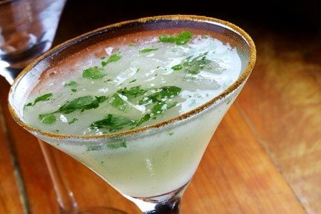 Minty Pear Martini