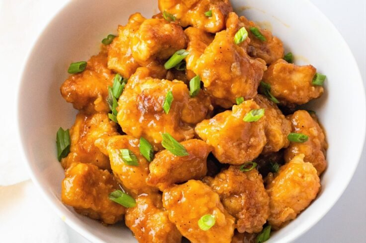 Try this sweet and zesty slow cooker orange chicken the next time youre craving Chinese food!