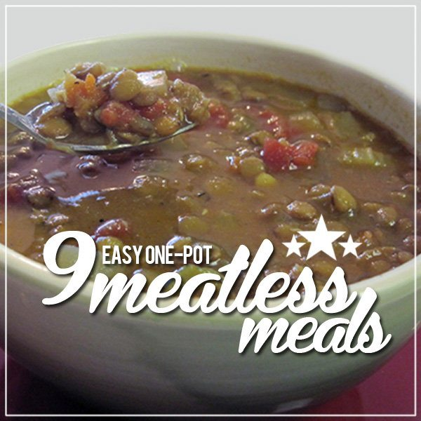 9 Easy One-Pot Meatless Meals