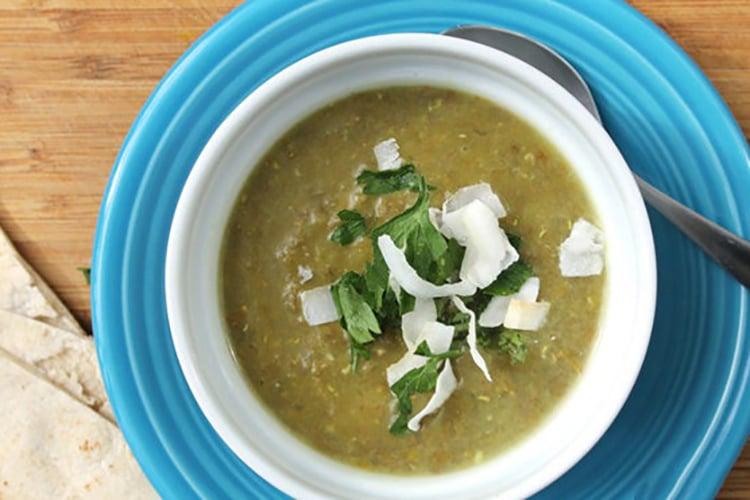 Cumin Scented Lentil and Split Pea Soup
