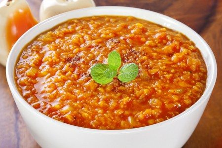 Slow Cooker Red Lentil Curry