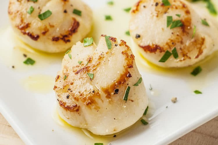 how to cook baked scallops