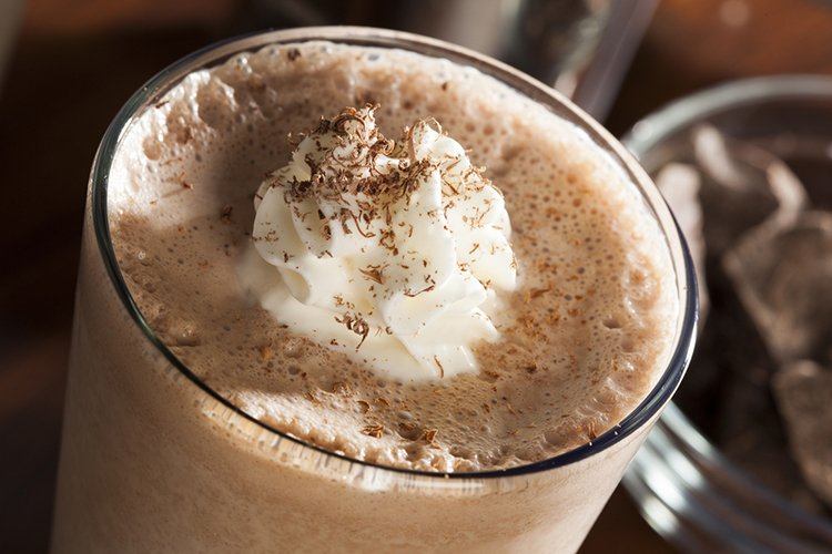 Frothy Chocolate Shake