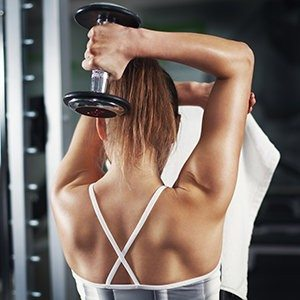 Tricep Tone it Up Workout for All Fitness Levels