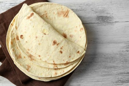 Homemade Whole Grain Tortillas