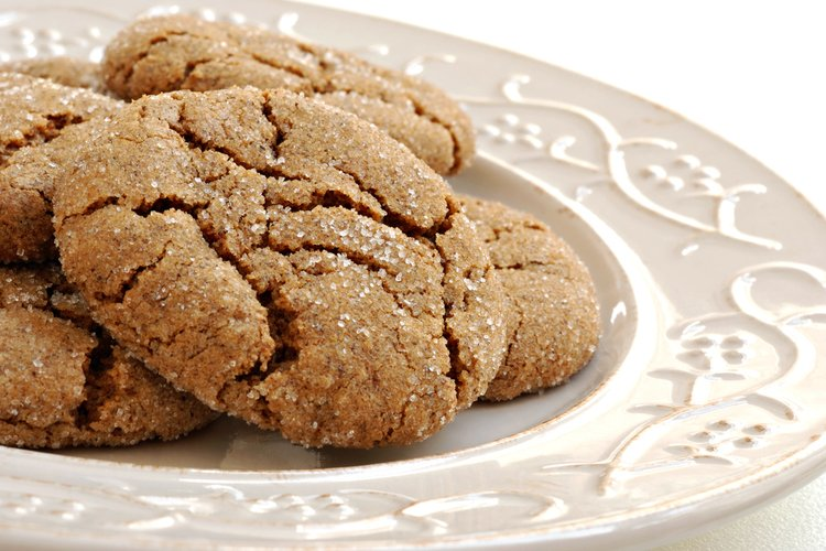 Molasses and Honey Oatmeal Cookies