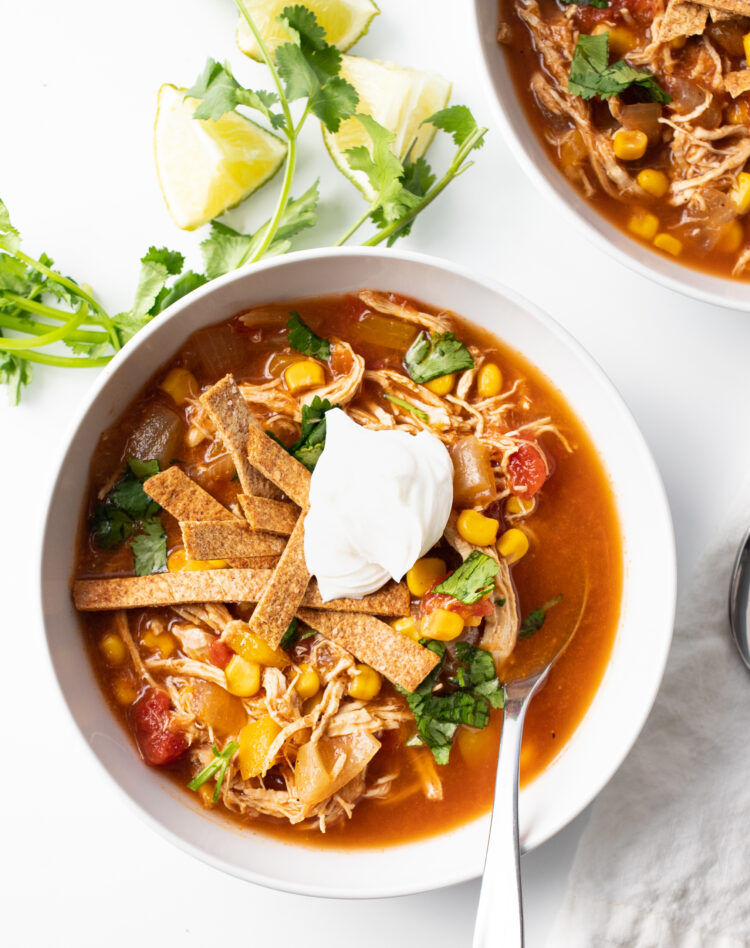 This delicious soup will fill your home with wonderful, savory scents while it cooks!