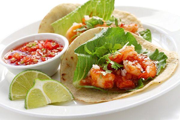 Soft Shrimp Tacos