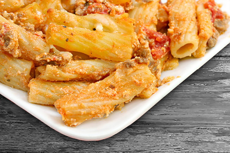 Three Cheese Ziti with Turkey