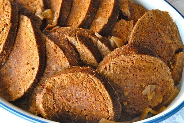 Slow Cooked Seitan Roast